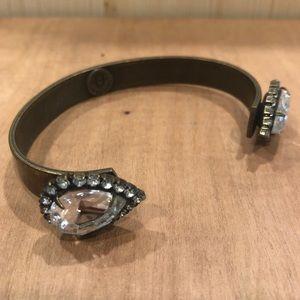 Loren Hope Sarra Antique Gold Cuff Bracelet